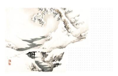Блокнот «Японські гравюри»